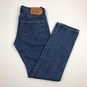 Vintage LEVI'S 501 Wedgie Jeans Sz 32 Re/Done